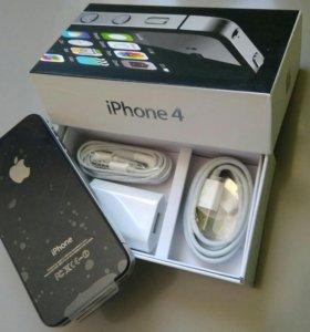 Iphone 4 черный Новый Оригинал