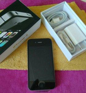Iphone 4 black оригинал новый