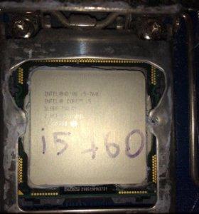 процессор intel i5-760 и материнка