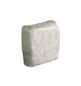 Ветошь х/б белая (постел. бельё) брикет