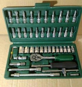 Набор инструментов в кейсе 46 предметов