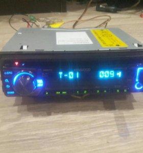 Kenwood-U363R USB iPod/iPho, SD, MP3, CD, AUX, WMA
