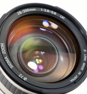 Sigma AF 28-200mm на Canon