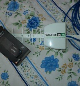 Комплет МТС Модем 4G +антена