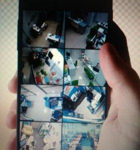 Видеонаблюдение в смартфоне и ноутбуке