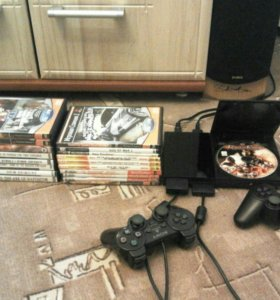 PS2 Playstation 2 читает все диски + дж+ кп+ игры