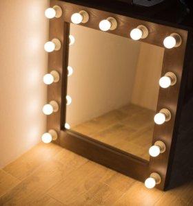 Гримерное зеркало 13 led ламп