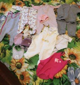 Пакет вещей для девочки 55-62