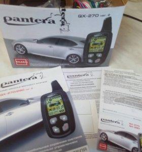 Новая Автосигнализация Pantera QX-270 ver.2