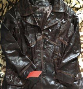 Новая женская кожаная куртка Турция