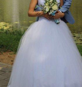 Отличное свадебное платье, по смешной цене!!!!