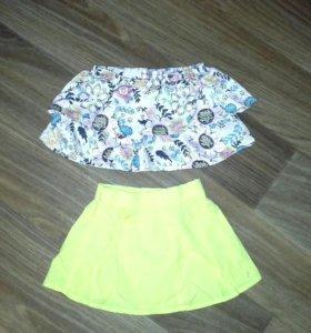 Красивые юбочки в яркий принт