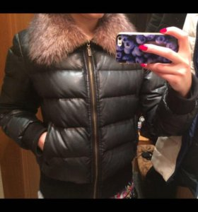 Зимняя куртка с натур.воротником