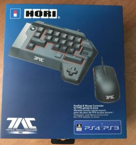 Клавиатура и мышь для PlayStation. HORI TAC Four.