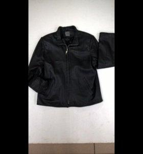 Куртка кожаная муж.Montego