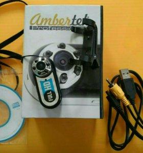 Мини видеорегистратор Ambertek MD98 HD1080p с ночн