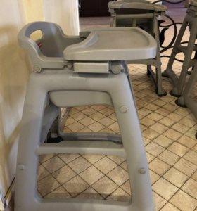 Детский стульчик со столиком для кормления