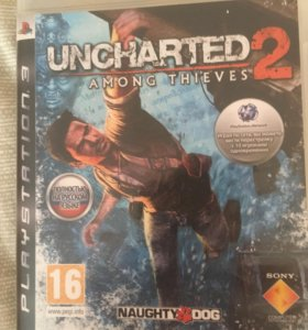 Диск с игрой на PlayStation 3 uncharted 2