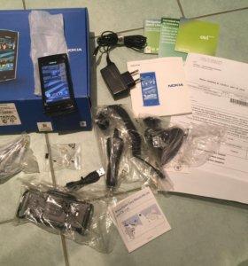 Nokia X6-00 16GB NAVI. Новый, НЕ ЭКСПЛУАТИРОВАЛСЯ.
