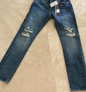 Мужские джинсы levi's 31x32