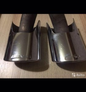 AMG насадки от 5 литрового мэрса оригинал...