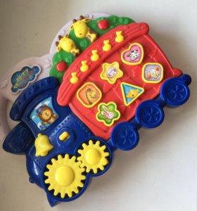 Музыкальная игрушка Паравозик