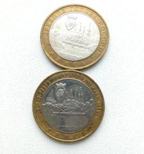 Юбилейная монета Ряжск 2004г