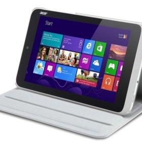 Планшет Acer Iconia Tab W3-810, Win10, белый чехол