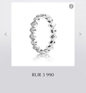 Оригинал кольцо Pandora новое