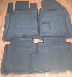 Комплект новых ковриков в салон Opel Antara