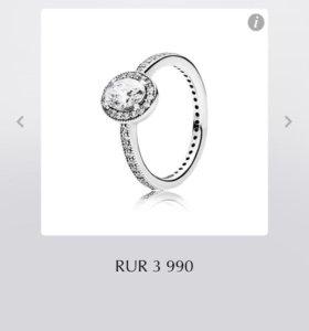 Кольцо новое оригинал Pandora