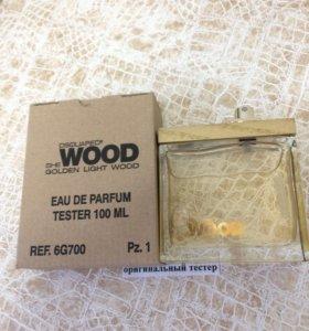 DSQUARED2 Golden Light Wood 100ml духи