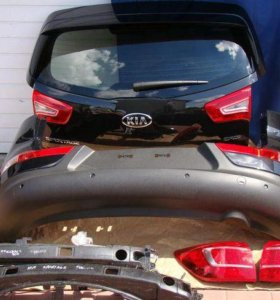 Kia Sportage 3 (10-15) крышка багажника, бампер