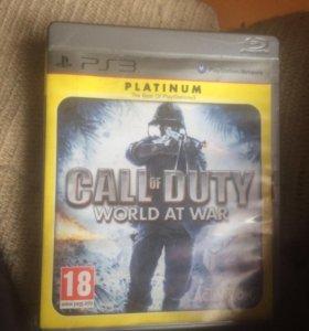 Игра для приставки ps3 CALL OF DUTY WORLD AT WAR