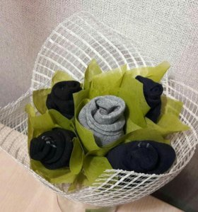 Мужской букет из носков
