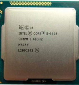 Процессор intel core i 5 3570