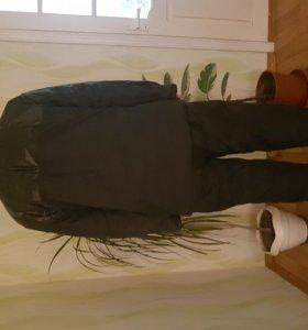 Рабочий костюм, утеплённый прорезиненный