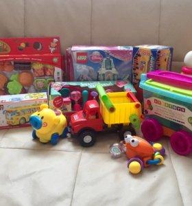 Детские развивающие и интерактивные игрушки