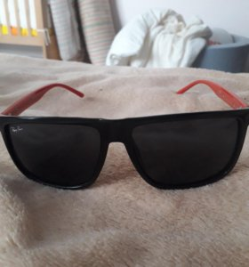 очки солнцезащитные чёрные