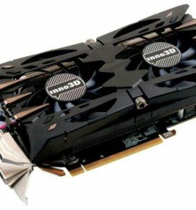 Продам видеокарты Inno3D GeForce GTX 1060 TwinX2