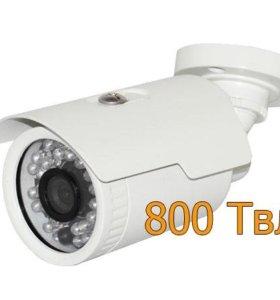 Уличная аналоговая камера видеонаблюдения 800 твл
