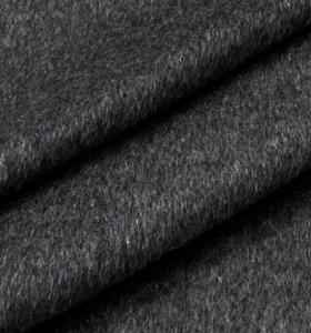 Драп ворсовой темно серый цвет