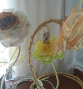 Цветы из бумаги Розы