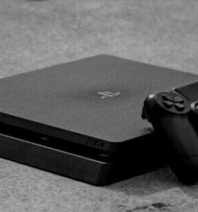 PS4 Slim 500GB Black + 2 Dualshok