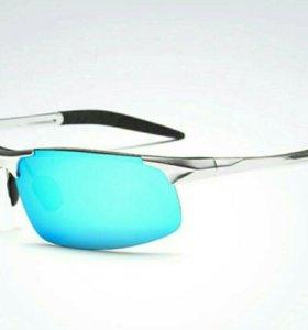 Солнцезащитные поляризационные очки, алюминий