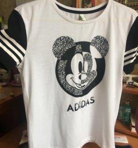 Футболка adidas neo + Disney