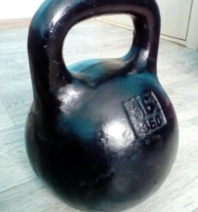 Гиря 16 кг,СССР.