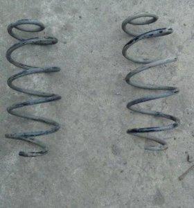 Заводские пружины передней подвески