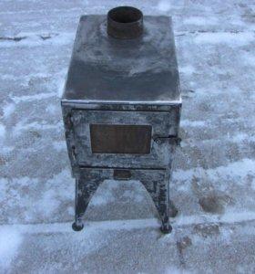 Печь для дачи,гаража, металлическая