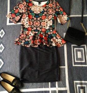 Комплект блуза и юбка